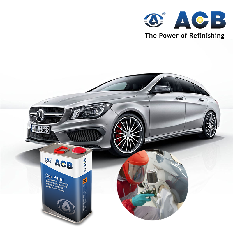 ACB cars paint repair Usage Polyurethane Paint hardener