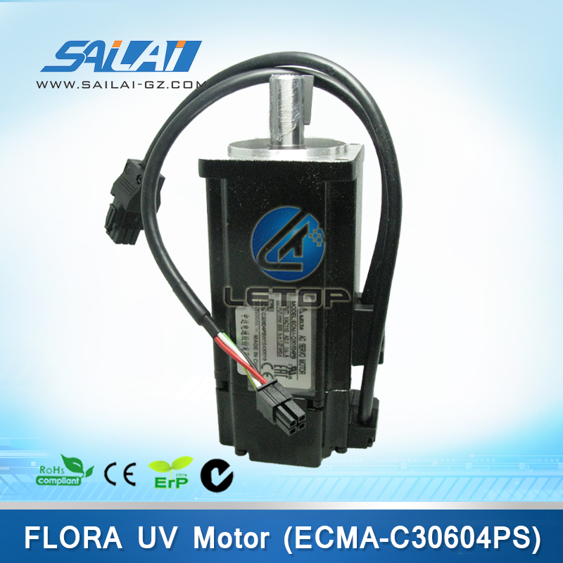 Printer Parts Ac Servo Uv Motor Flora Motor Ecma C30604ps