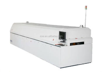 professinonal manufacturer smt/smd eight heating zones Japan ETC NC06 smt reflow oven