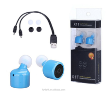 X1T Hot sale mini wireless earbuds bluetooth stereo true wireless earbuds