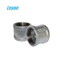 galvanized hydraulic water fittings high quality sockets and nipples BSP hose fittings NPT thread standard sockets