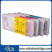 Top selling product!For Epson 7800 9800 refillable ink cartridge