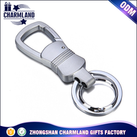 carabiner keychain stainless steel key chain with experienced manufacturing work