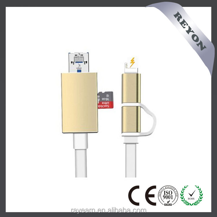 REYON new arrival smart cable. the world's best multi-functional phone USB charging &data cable for Iphone,xiaomi,samsung