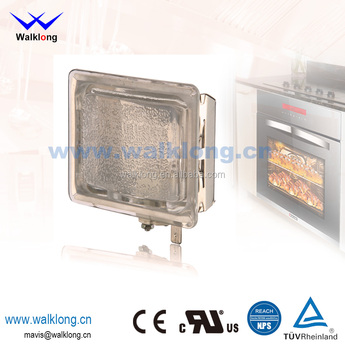G9 Square Lense High Temperature Halogen Oven Lamp