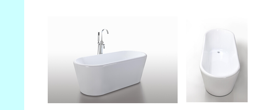 Modern CUPC Certificated Freestanding Bathtub JS-6830