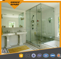 Double Coated Clear Silver Mirror float glass/bathroom mirror