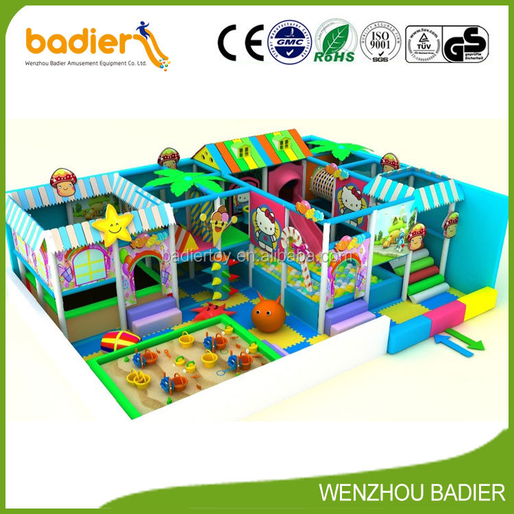 Children Favourite China Attractions Commercial Indoor Playground Equipment