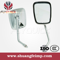 chrome motorcycle side mirror for jialing 150