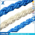 8 strand PP & PET mixed used ship mooring rope