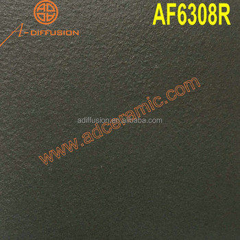 black full body vitrified tile rough surface 60x60cm 24x24 inch