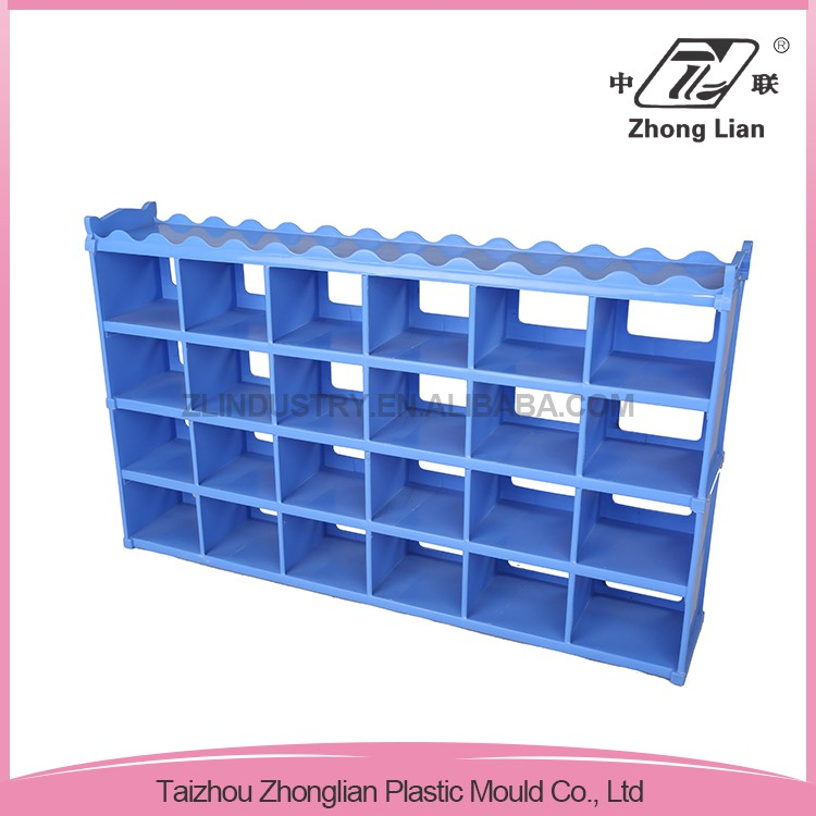 Professional company cheap plastic indoor school children shoe rack