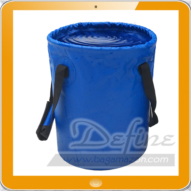 Outdoor Collapsible Bucket Folding Water Container