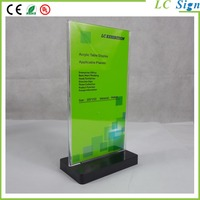 Transparent Acrylic picture frame; photo frame stand