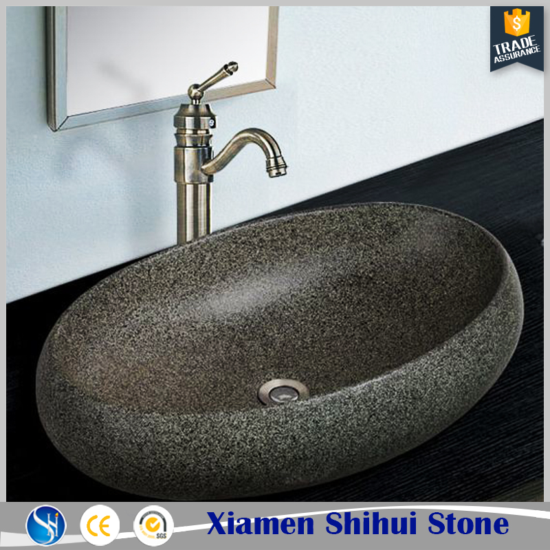New products custom made quartz stone kitchen sinks