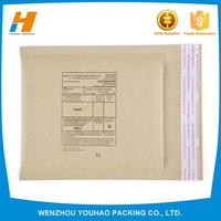 manufacturer kraft bubble packaging envelopes with different size