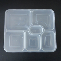 1000ml Disposable Wholesale Heating Lunch Tiffin microwavable containers Boxes Keep Food Hot