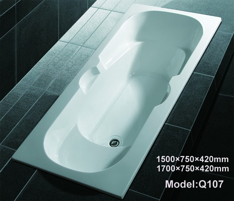 Q112a chinese bathroom manufacturer cheap soaking spa hot for Best acrylic bathtub to buy