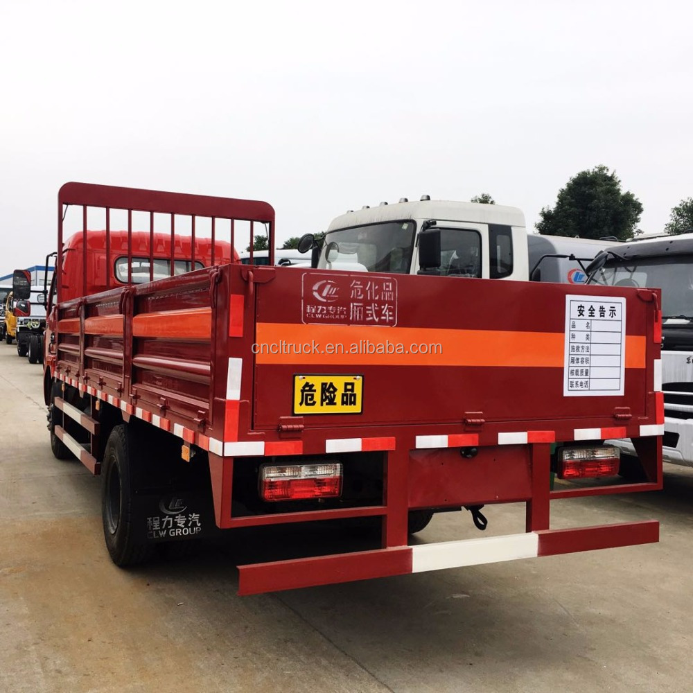 China luxury cargo truck DONFGE Delivery Vans 4x2 For Sale