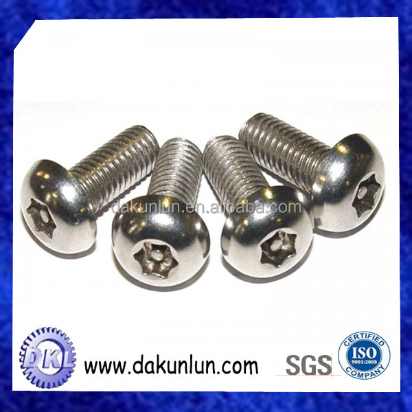 Stainless steel TC trox screw