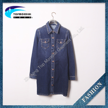 Summer Casual Shirt, Women Long Sleeve Ladies New Fashion Denim Shirts