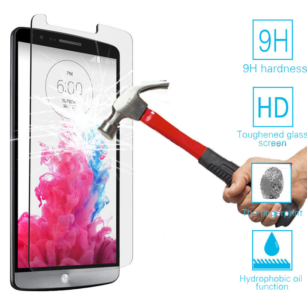 Top Quality 0.25 mm 9H Premium Tempered Glass For LG G2 G3 G4 G5 G3S S Beat K8 K10 Magna Leon Spirit Screen Protector Film Case