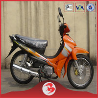 Cheap 110CC Engine Best Selling Cub Motorcycle Orange Color Hot Sale