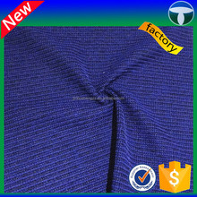 knitted polyester waffle fabric for garment, bag, bedding