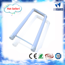 Hot Seller! U shape bending bright led tube light t8 with CE Rohs UL approval