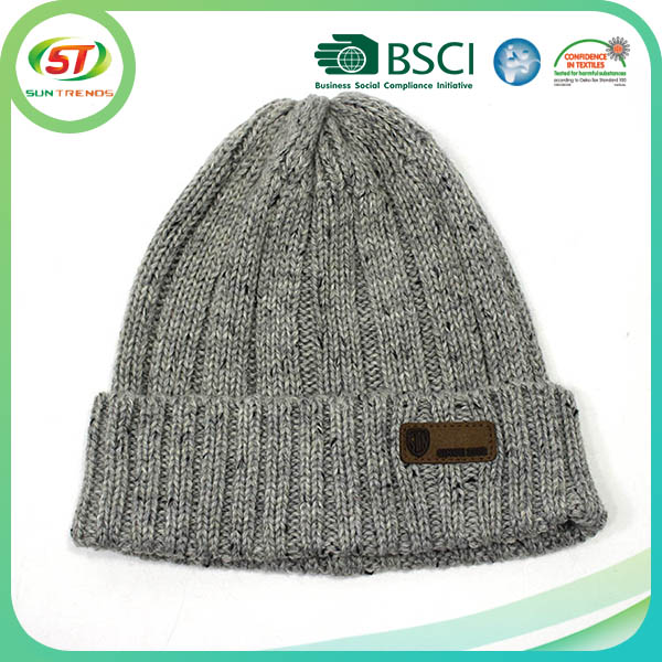 winter warm russian korean style knitted hat winter hats for men