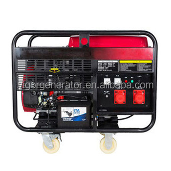 Wholesale Best Price Open Type 220V 50Hz/60Hz 5kw Compact Gasoline AC Generator for Sale