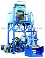 Three layer High Density and low density blown film extruder, Film Making Machine,Film Extrusion