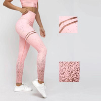 Wholesale hot selling sport fitness workout high waist yoga leggings for women