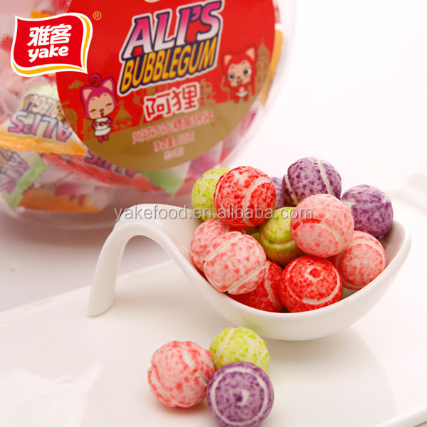 Best bubble gum with fruit filled