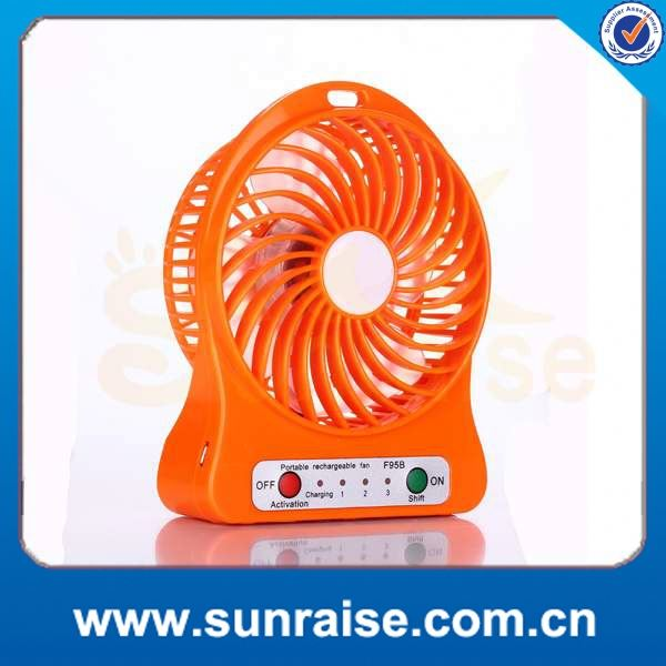 2016 new products portable mini usb table/desk personal fan