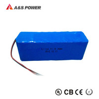 Rechargeable 18650 3S10P 12v 20ah lithium-ion battery pack for solar led light