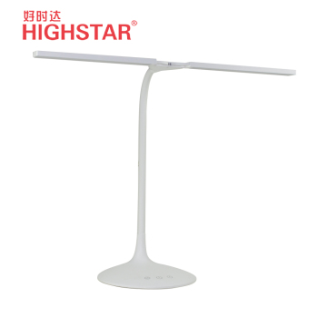 HIGHSTAR hot selling dual head led table flexible reading dimmable study lamp