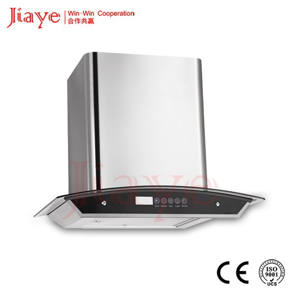 Professional Kitchen Hood/Euro Wall mounted Morden Cooker Hood 850CFM JY-HP6006