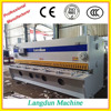 Chinese manufacturing hydraulic guillotine shearing machine cutting sheet metal