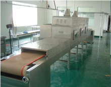 GRT tunnel microwave drying machine for Fresh Vegetable dryer / Fruit Sea Food Fish Dryer\Drying Machine
