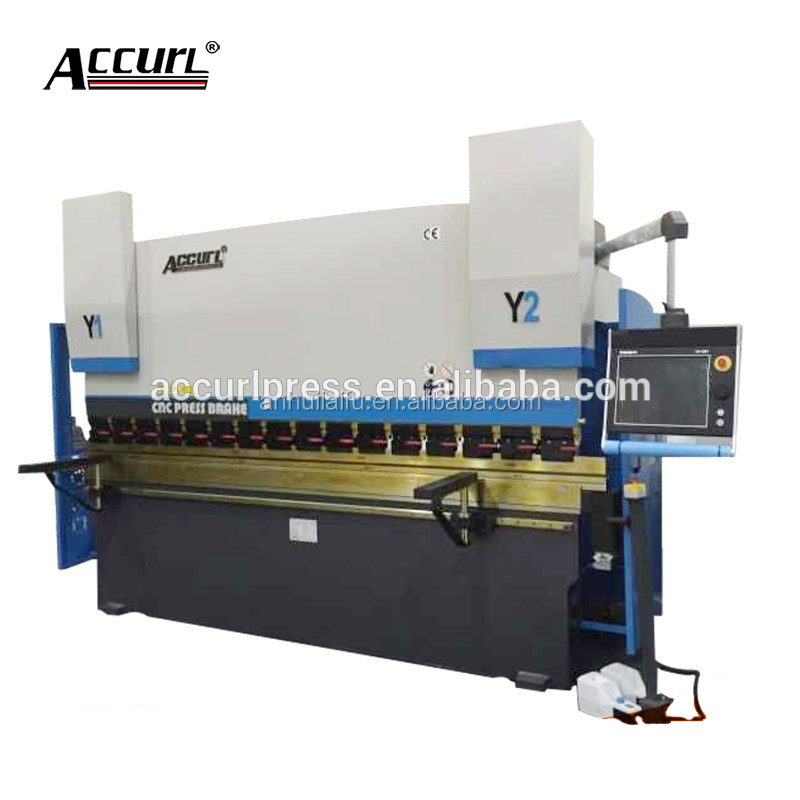 ACCURL delem da66t controller/CNC Electro-Hydraulic synchro press brake for bending sheet/plate steel