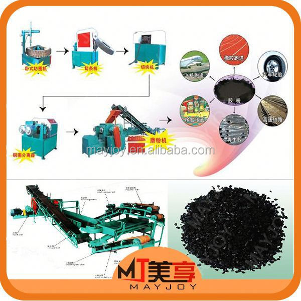 MAYJOY tire retreading used machine/waste tyre recycling machine production line(whatsapp:008613816026154)