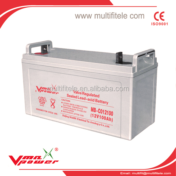 High Quality Batteries MF Superior 12V200AH/100AH for Ups Control EPS Backup System with Best Prices Welcome