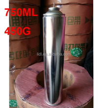 12x Refined Fuel Gas 750ml / big size gas can 750ml / refined big gas Can 430g