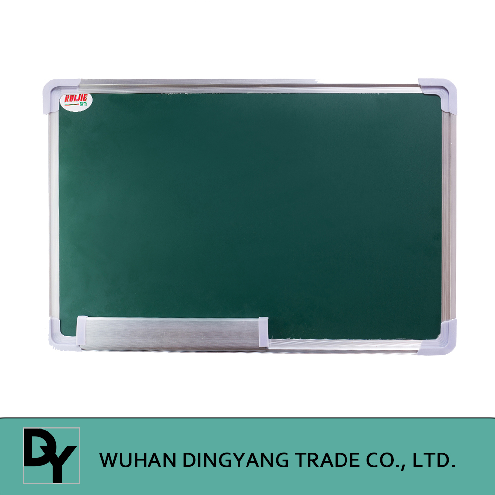 School magnetic green chalkboard