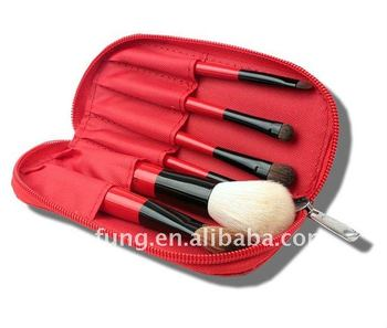 Vonira Travel 6 Pieces Makeup Brush Set