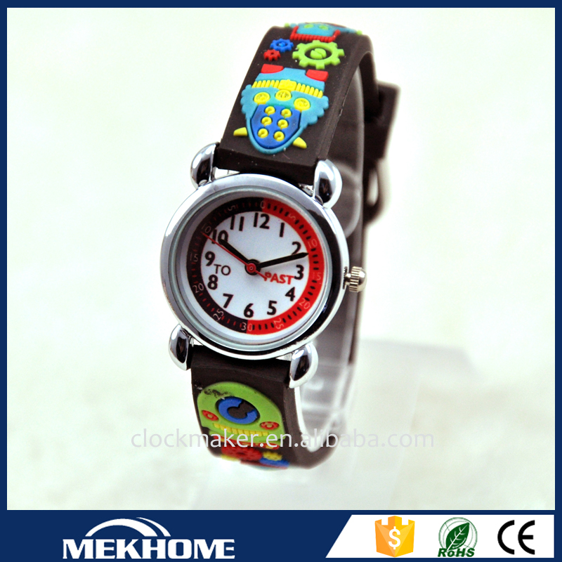 Promotion metal Gift sets christmas gift 3d cartoon watch