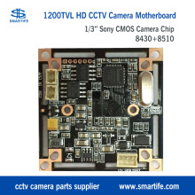 1/3inch 1200TVL HD Sony Cmos 8430+8510 cctv security monitoring surveillance camera chip mainboard motherboard