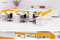 CT+D32 trade assurance price factory direct sell customizable green certification office workstation ABS laser edge table