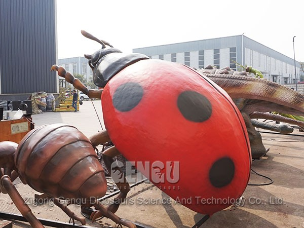 Amusement Park Insect Statue Insectos Del Animatronics